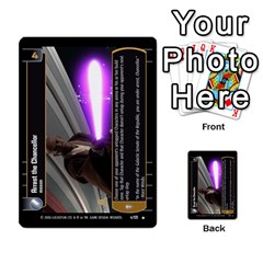 Star Wars Tcg Ii By Jaume Salva I Lara   Multi Purpose Cards (rectangle)   78rjzmm60ppz   Www Artscow Com Front 26