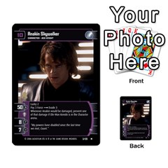 Star Wars Tcg Ii By Jaume Salva I Lara   Multi Purpose Cards (rectangle)   78rjzmm60ppz   Www Artscow Com Front 28