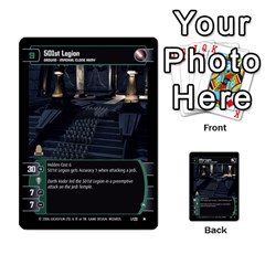 Star Wars Tcg Ii By Jaume Salva I Lara   Multi Purpose Cards (rectangle)   78rjzmm60ppz   Www Artscow Com Front 29