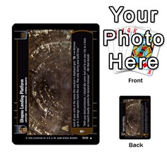Star Wars Tcg Ii By Jaume Salva I Lara   Multi Purpose Cards (rectangle)   78rjzmm60ppz   Www Artscow Com Front 30