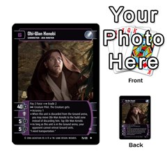 Star Wars Tcg Ii By Jaume Salva I Lara   Multi Purpose Cards (rectangle)   78rjzmm60ppz   Www Artscow Com Front 35
