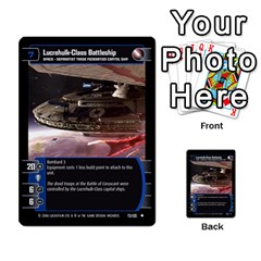 Star Wars Tcg Ii By Jaume Salva I Lara   Multi Purpose Cards (rectangle)   78rjzmm60ppz   Www Artscow Com Front 37