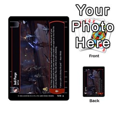 Star Wars Tcg Ii By Jaume Salva I Lara   Multi Purpose Cards (rectangle)   78rjzmm60ppz   Www Artscow Com Front 38