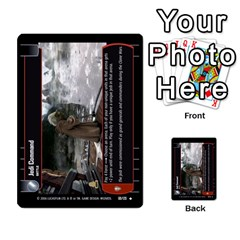 Star Wars Tcg Ii By Jaume Salva I Lara   Multi Purpose Cards (rectangle)   78rjzmm60ppz   Www Artscow Com Front 40
