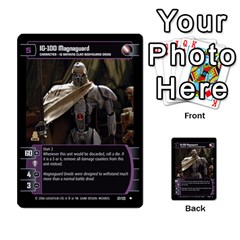 Star Wars Tcg Ii By Jaume Salva I Lara   Multi Purpose Cards (rectangle)   78rjzmm60ppz   Www Artscow Com Front 43