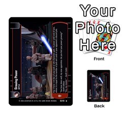 Star Wars Tcg Ii By Jaume Salva I Lara   Multi Purpose Cards (rectangle)   78rjzmm60ppz   Www Artscow Com Front 44