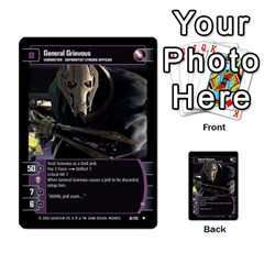 Star Wars Tcg Ii By Jaume Salva I Lara   Multi Purpose Cards (rectangle)   78rjzmm60ppz   Www Artscow Com Front 47