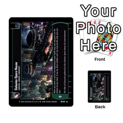 Star Wars Tcg Ii By Jaume Salva I Lara   Multi Purpose Cards (rectangle)   78rjzmm60ppz   Www Artscow Com Front 50