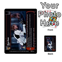 Star Wars Tcg Iii By Jaume Salva I Lara   Multi Purpose Cards (rectangle)   Yc4kan8f88nv   Www Artscow Com Front 13