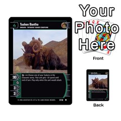 Star Wars Tcg Iii By Jaume Salva I Lara   Multi Purpose Cards (rectangle)   Yc4kan8f88nv   Www Artscow Com Front 17