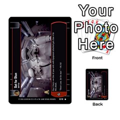 Star Wars Tcg Iii By Jaume Salva I Lara   Multi Purpose Cards (rectangle)   Yc4kan8f88nv   Www Artscow Com Front 23