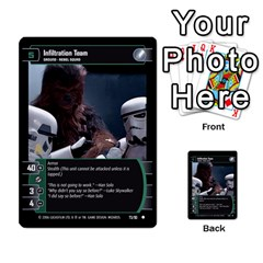Star Wars Tcg Iii By Jaume Salva I Lara   Multi Purpose Cards (rectangle)   Yc4kan8f88nv   Www Artscow Com Front 31