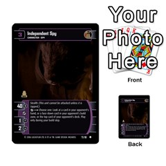 Star Wars Tcg Iii By Jaume Salva I Lara   Multi Purpose Cards (rectangle)   Yc4kan8f88nv   Www Artscow Com Front 32