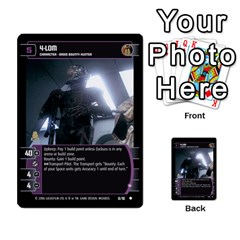 Star Wars Tcg Iii By Jaume Salva I Lara   Multi Purpose Cards (rectangle)   Yc4kan8f88nv   Www Artscow Com Front 43