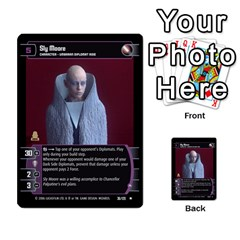 Star Wars Tcg Iii By Jaume Salva I Lara   Multi Purpose Cards (rectangle)   Yc4kan8f88nv   Www Artscow Com Front 45