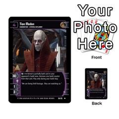 Star Wars Tcg Iii By Jaume Salva I Lara   Multi Purpose Cards (rectangle)   Yc4kan8f88nv   Www Artscow Com Front 46