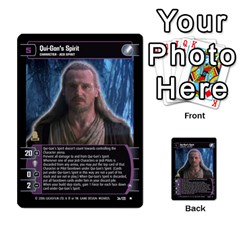 Star Wars Tcg Iii By Jaume Salva I Lara   Multi Purpose Cards (rectangle)   Yc4kan8f88nv   Www Artscow Com Front 49