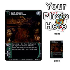 Star Wars Tcg V By Jaume Salva I Lara   Multi Purpose Cards (rectangle)   I6djriq2k52n   Www Artscow Com Front 6