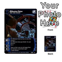 Star Wars Tcg V By Jaume Salva I Lara   Multi Purpose Cards (rectangle)   I6djriq2k52n   Www Artscow Com Front 52