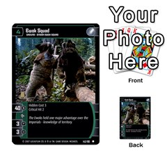 Star Wars Tcg V By Jaume Salva I Lara   Multi Purpose Cards (rectangle)   I6djriq2k52n   Www Artscow Com Front 9