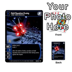Star Wars Tcg V By Jaume Salva I Lara   Multi Purpose Cards (rectangle)   I6djriq2k52n   Www Artscow Com Front 2