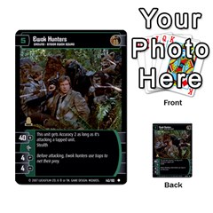 Star Wars Tcg V By Jaume Salva I Lara   Multi Purpose Cards (rectangle)   I6djriq2k52n   Www Artscow Com Front 11