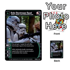 Star Wars Tcg V By Jaume Salva I Lara   Multi Purpose Cards (rectangle)   I6djriq2k52n   Www Artscow Com Front 15