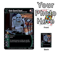Star Wars Tcg V By Jaume Salva I Lara   Multi Purpose Cards (rectangle)   I6djriq2k52n   Www Artscow Com Front 18