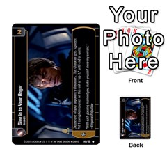 Star Wars Tcg V By Jaume Salva I Lara   Multi Purpose Cards (rectangle)   I6djriq2k52n   Www Artscow Com Front 3