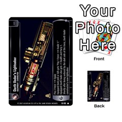Star Wars Tcg V By Jaume Salva I Lara   Multi Purpose Cards (rectangle)   I6djriq2k52n   Www Artscow Com Front 21