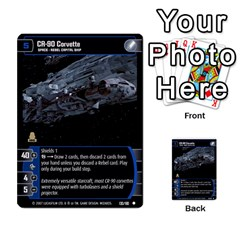 Star Wars Tcg V By Jaume Salva I Lara   Multi Purpose Cards (rectangle)   I6djriq2k52n   Www Artscow Com Front 23