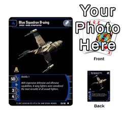 Star Wars Tcg V By Jaume Salva I Lara   Multi Purpose Cards (rectangle)   I6djriq2k52n   Www Artscow Com Front 27