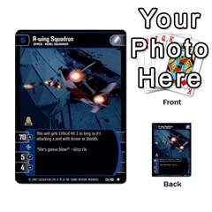 Star Wars Tcg V By Jaume Salva I Lara   Multi Purpose Cards (rectangle)   I6djriq2k52n   Www Artscow Com Front 28
