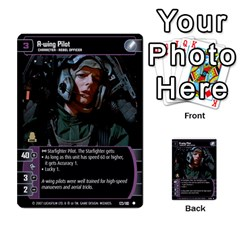 Star Wars Tcg V By Jaume Salva I Lara   Multi Purpose Cards (rectangle)   I6djriq2k52n   Www Artscow Com Front 29