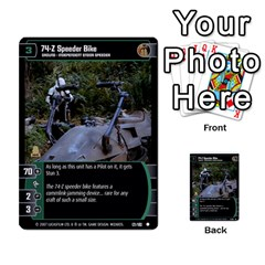 Star Wars Tcg V By Jaume Salva I Lara   Multi Purpose Cards (rectangle)   I6djriq2k52n   Www Artscow Com Front 32
