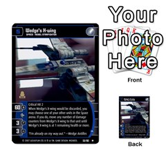 Star Wars Tcg V By Jaume Salva I Lara   Multi Purpose Cards (rectangle)   I6djriq2k52n   Www Artscow Com Front 33