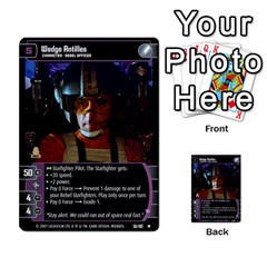 Star Wars Tcg V By Jaume Salva I Lara   Multi Purpose Cards (rectangle)   I6djriq2k52n   Www Artscow Com Front 34
