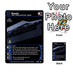 Star Wars Tcg V By Jaume Salva I Lara   Multi Purpose Cards (rectangle)   I6djriq2k52n   Www Artscow Com Front 5