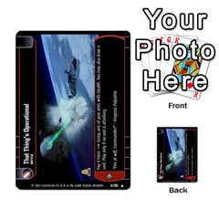 Star Wars Tcg V By Jaume Salva I Lara   Multi Purpose Cards (rectangle)   I6djriq2k52n   Www Artscow Com Front 41