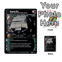 Star Wars Tcg V By Jaume Salva I Lara   Multi Purpose Cards (rectangle)   I6djriq2k52n   Www Artscow Com Front 42