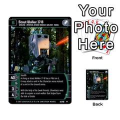 Star Wars Tcg V By Jaume Salva I Lara   Multi Purpose Cards (rectangle)   I6djriq2k52n   Www Artscow Com Front 45