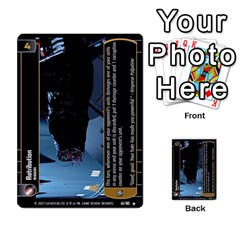 Star Wars Tcg V By Jaume Salva I Lara   Multi Purpose Cards (rectangle)   I6djriq2k52n   Www Artscow Com Front 46