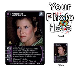 Star Wars Tcg V By Jaume Salva I Lara   Multi Purpose Cards (rectangle)   I6djriq2k52n   Www Artscow Com Front 50