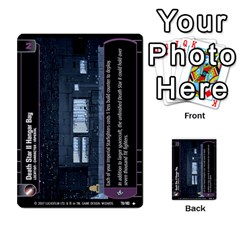 Star Wars Tcg Vi By Jaume Salva I Lara   Multi Purpose Cards (rectangle)   Bxke0hvghvar   Www Artscow Com Front 6