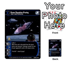 Star Wars Tcg Vi By Jaume Salva I Lara   Multi Purpose Cards (rectangle)   Bxke0hvghvar   Www Artscow Com Front 54
