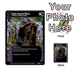 Star Wars Tcg Vi By Jaume Salva I Lara   Multi Purpose Cards (rectangle)   Bxke0hvghvar   Www Artscow Com Front 7