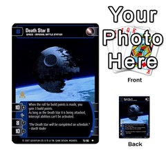 Star Wars Tcg Vi By Jaume Salva I Lara   Multi Purpose Cards (rectangle)   Bxke0hvghvar   Www Artscow Com Front 9