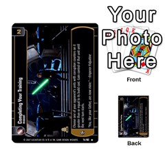 Star Wars Tcg Vi By Jaume Salva I Lara   Multi Purpose Cards (rectangle)   Bxke0hvghvar   Www Artscow Com Front 10