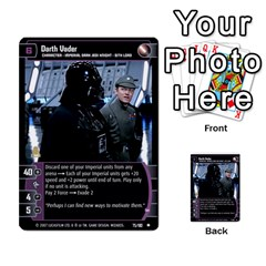 Star Wars Tcg Vi By Jaume Salva I Lara   Multi Purpose Cards (rectangle)   Bxke0hvghvar   Www Artscow Com Front 11