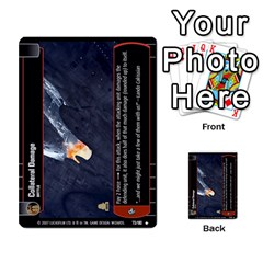 Star Wars Tcg Vi By Jaume Salva I Lara   Multi Purpose Cards (rectangle)   Bxke0hvghvar   Www Artscow Com Front 13